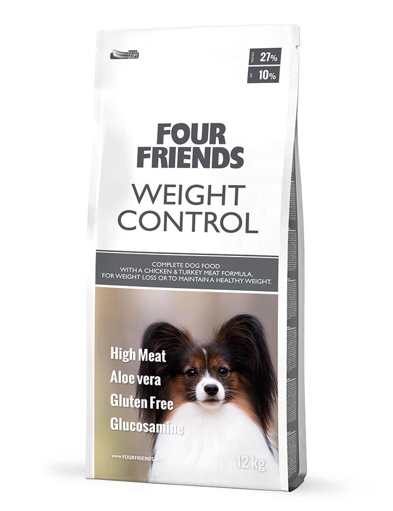FourFrienda hundmat Weight Control