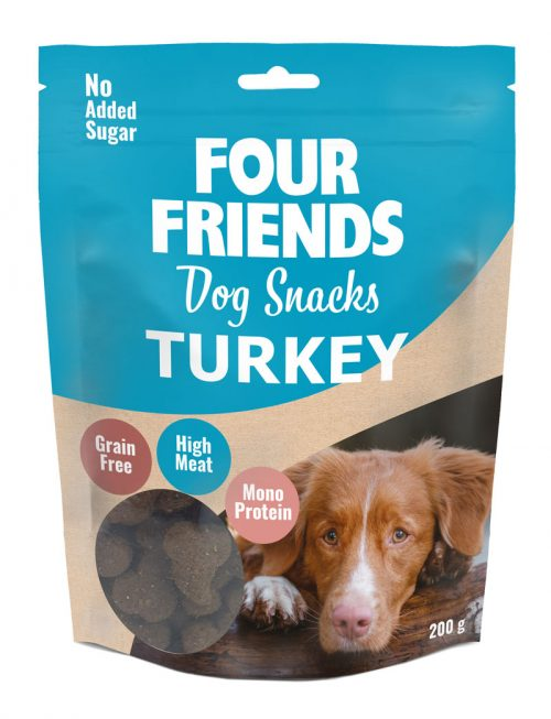 FourFriends Dog Snacks Turkey 200g