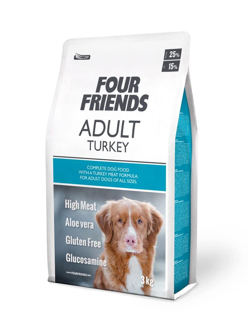 FourFriend Adult Turkey 3 kg