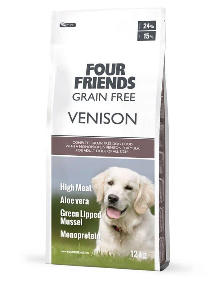 FourFriends Grain Free Venison 12 kg