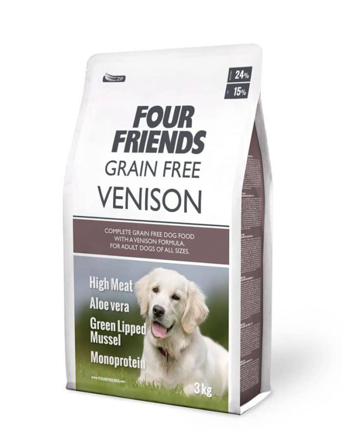 FourFriends Grain Free Venison 3 kg