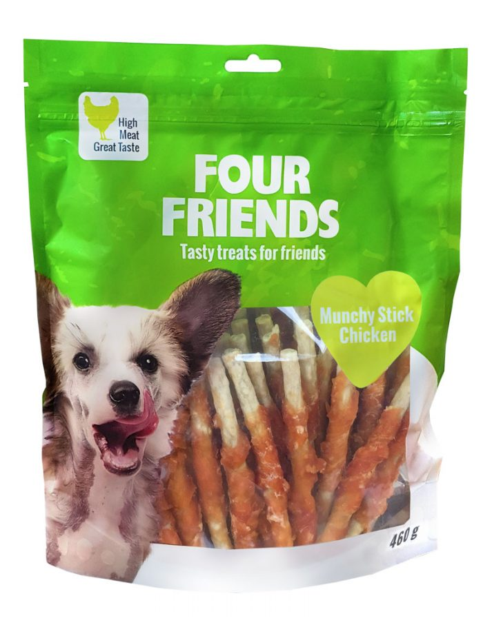 fourfriends munchy stick chicken malda tuggpinnar