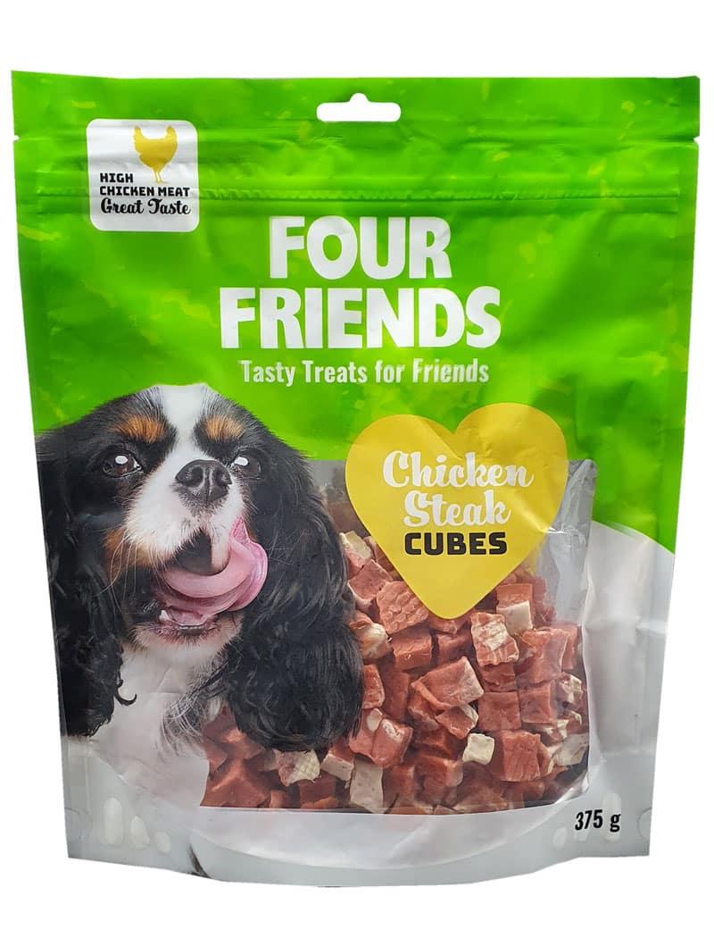 Four Friends Chicken Steak Cubes 375g