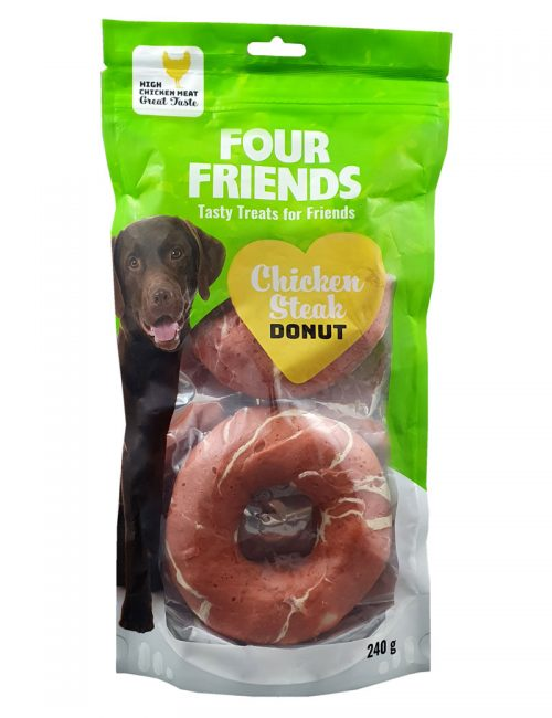Four Friends Chicken Steak Donut 2-pack