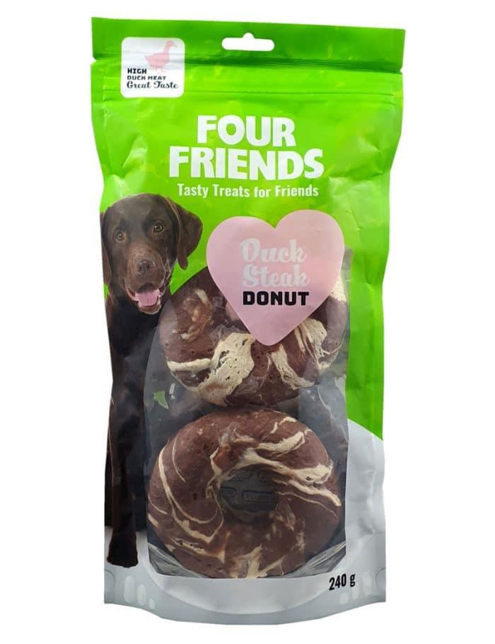 Four Friends Duck Steak Donut 2-pack