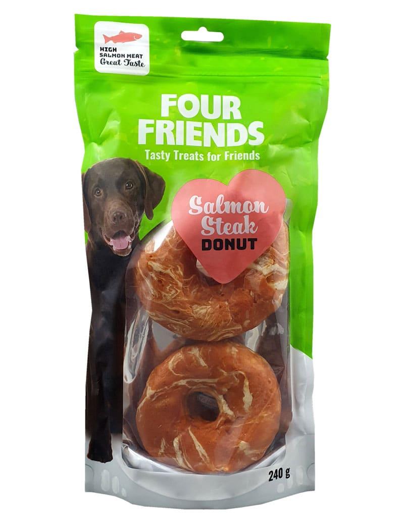 Four Friends Salmon Steak Donut 2-pack