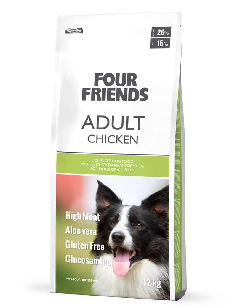 FourFriends hundmat Adult