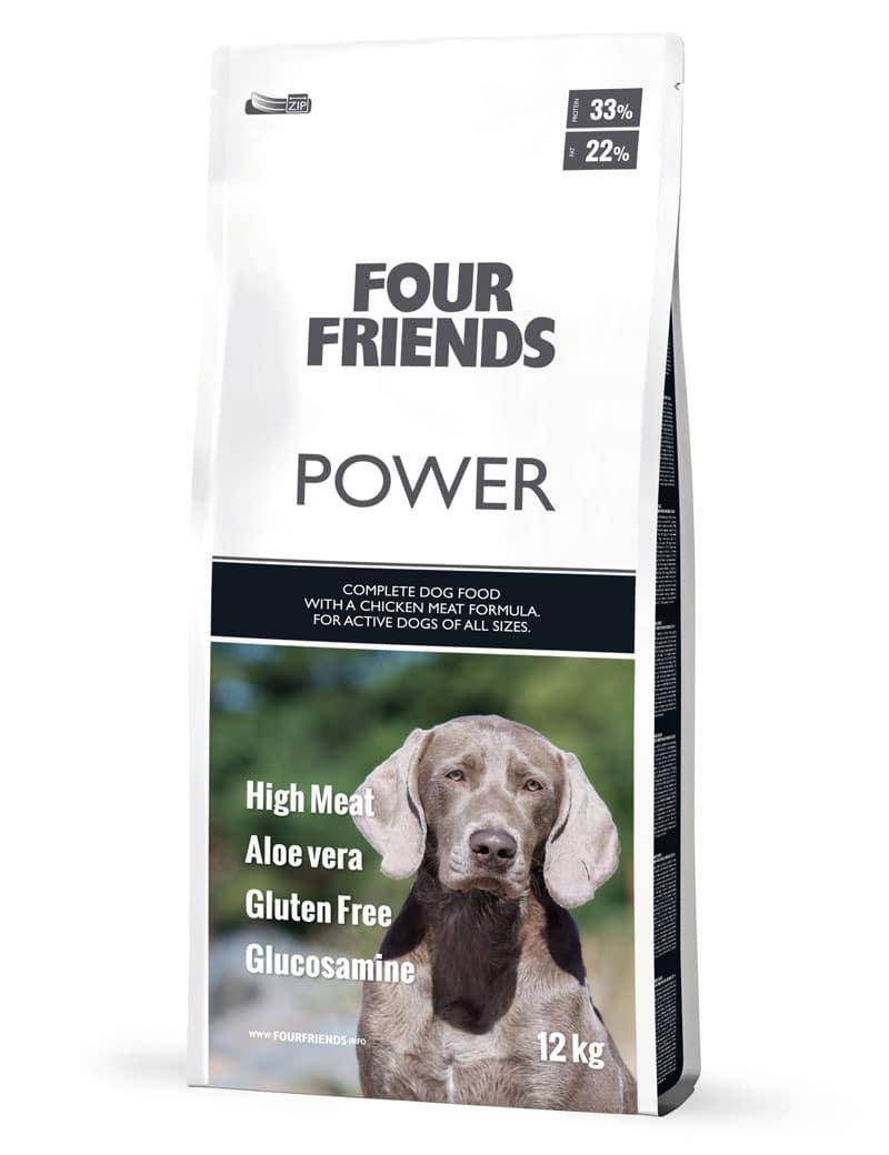 FourFriends hundmat Power