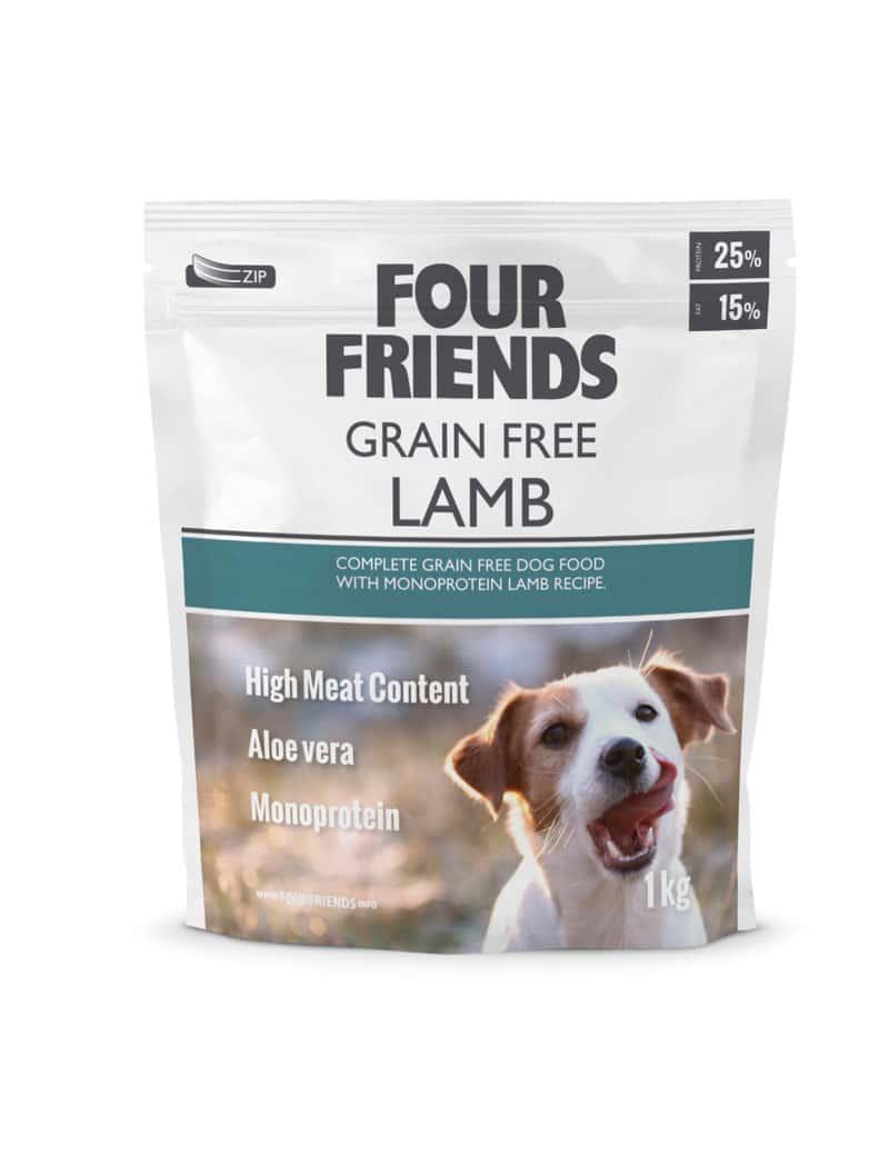FourFriends hundmat GF Lamb 1 kg